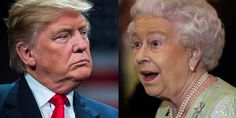 Someone Keeps Face Swapping Donald Trump With The British Queen