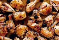 Gluten Free Roast Chicken with Pancetta and Olives
