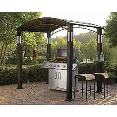 Find This Pin And More On Take It Outside. Simply Outdoors Grill Gazebo ...