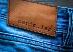 denim.lab premium leather patch - denim