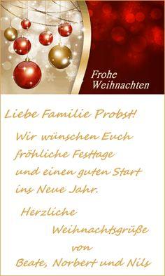 Weihnachtsgrüße Vorlage.Weihnachtskarten Festlich Und Individuell Gestalten Mit