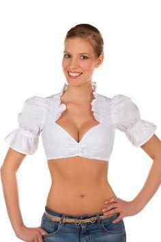 Die weiße Bluse ist perfekt zu jedem Dirndl kombinierbar. Zudem ist sie individuell einstellbar und bringt Ihr Dekoltee super zur Geltung. Tolle Bluse - Toller Preis