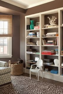 Perfectly Styled Bookshelves- natural