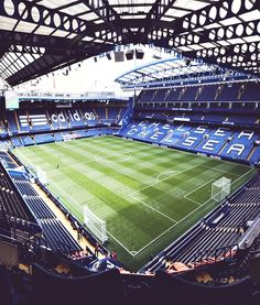 The best stadium ever, hopefully one day I will be able to play here. It would be an honour.