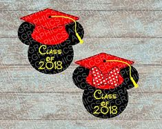 Image result for mickey mouse graduation cutout