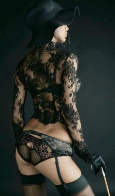 This is Gorgeous Laced Black Lingerie, so Sensual and Erotic, every Woman should have this. Hot Lingerie, Lingerie Plus Size, Black Lingerie, Lingerie Drawer, Corsets, Sexy Girl, Beautiful Lingerie, Beautiful Gorgeous, Simply Beautiful