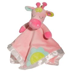 Lil Snugglers combine a soft blankie with a plush baby toy. Giraffe Lil Snuggler is a soothing cuddle toy for baby. Giraffe Lil Snuggler from Douglas Toy. Ages Birth to 2 years. Baby Snuggle Blanket, Pink Baby Blanket, Pet Toys, Baby Toys, Kids Toys, Baby Stuffed Animals, Pink Giraffe, Shower Bebe, Personalized Baby Blankets