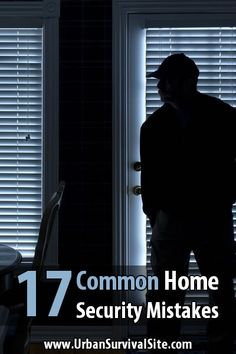 As long as you avoid making home security mistakes (like leaving a window unlocked), most burglars will skip your home in search of an easier target. Wireless Home Security Systems, Security Alarm, Safety And Security, Security Camera, Video Security, Urban Survival, Survival Tips, Survival Skills, Home Security Tips