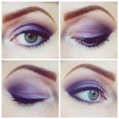 Merle Norman  Purple Reign Eyeshadow Great for green eyes