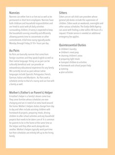 THE STANDOUT NANNY RESUME: No matter the method you use to find a ...