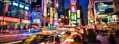New York City Light Motion Traffic Picture