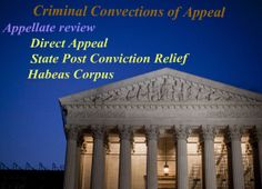 Criminal convection of criminal appeal cases. for more information about appeal criminal convection visit: http://houstoncriminalattorney.com/blawg/how-to-appeal-criminal-convictions/