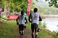 Branded sports bibs supplied for the epic Loch Gu Loch 2015.