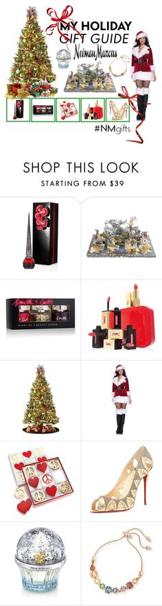 """The Holiday Wish List With Neiman Marcus: Contest Entry"" by humblechick1 on Polyvore featuring beauty, Neiman Marcus, Christian Louboutin, Christian Lacroix, Smith & Cult, Yves Saint Laurent, General Foam, Jonathan Adler, House of Sillage and Eddie Borgo"