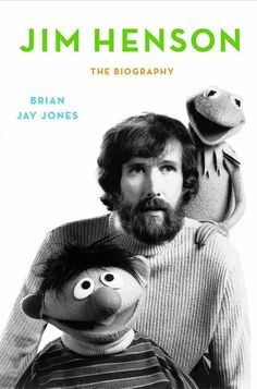 Here it is, the cover to the upcoming Jim Henson biography by Brian Jay Jones.