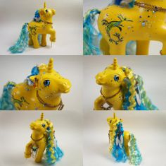 Yellow Weedy Dragon pony by lovelauraland.deviantart.com on @deviantART