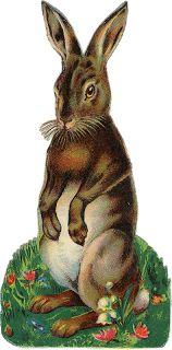 Zibi Vintage Scrap: The Easter Bunny