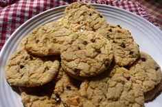 hot gluten free cookies right out of the oven!