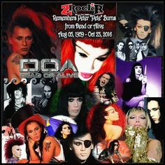 Pete Burns  collage' by Photoartist LisaKay Allen/PassionFeast