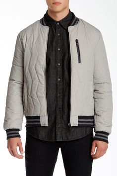 Quilted Varsity Jacket by American Stitch on @nordstrom_rack