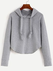 To find out about the Raglan Sleeve Hooded Sweatshirt at SHEIN, part of our latest Sweatshirts ready to shop online today! Hoodie Sweatshirts, Sweatshirts Online, Hoodies, Fashion Sweatshirts, Sweat Shirt, Pulls, Types Of Sleeves, Ideias Fashion, Cute Outfits