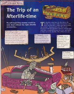 Horrible Histories Magazine # 3 : The Awesome Egyptians Mummy Mania Ancient Egypt Lessons, Ancient Egypt Activities, Ancient Egypt For Kids, Ancient History, World History Teaching, World History Lessons, Egyptian Crafts, Egyptian Art, Egypt Games