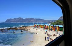 TAKE A HOP-ON HOP-OFF TRAIN TRIP ALONG THE SOUTHERN LINE RAIL ROUTE  Cost: R30 for the hop-on, hop-off ticket  The Southern Line Rail Route stretches between Cape Town and Simon's Town. Besides it being a great way of getting from A to B, it's also a relaxing way of seeing Cape Town's varied scenes.  #lovecapetown #capetown