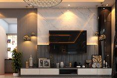 Bedroom Tv Unit Design, Tv Unit Interior Design, Living Room Tv Unit Designs, Interior Design Living Room, Lcd Wall Design, Drawing Room Design, Modern Tv Units, Washroom Design, Luxury Kitchen Design