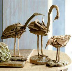 driftwood beach birds | seasideinspired.com