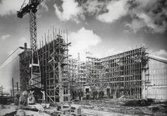 Antigos Verde Amarelo: Fábrica Volkswagen do Brasil , anos 50 ...a construção da fábrica Volkswagen do Brasil.A primeira foto foi enviada pelo Dario Faria e a segunda pelo Lindeberg de Menezes Jr.