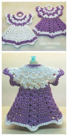 Cotton Crochet Patterns, Crochet Potholder Patterns, Crochet Dishcloths, Granny Square Crochet Pattern, Crochet Squares, Vintage Crochet Doily Pattern, Crochet Doilies, Crochet Hot Pads, Crochet Pig