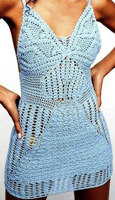 Crochet Skirts, Knit Crochet, Crochet Woman, All Fashion, I Dress, Crochet Projects, Women Wear, Knitting, Pattern