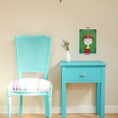 Mucho turquesa en esta foto del bazarvintageandchic muebles furniture azulhellip