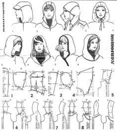 Hood shapes. Good reference.