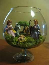 Resultado de imagem para decoração natalina artesanal #NavidadMexicana Christmas Nativity Scene, Christmas Ornament Crafts, Christmas Fairy, Christmas Scenes, Christmas Time, Christmas Crafts, Recycled Christmas Decorations, Christmas Centerpieces, Christmas Dishes