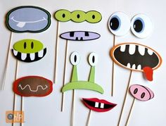 Accesorios para la cabina de fotos - Photo booth props