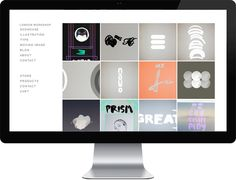 London Workshop - Portfolio site and online store on Behance