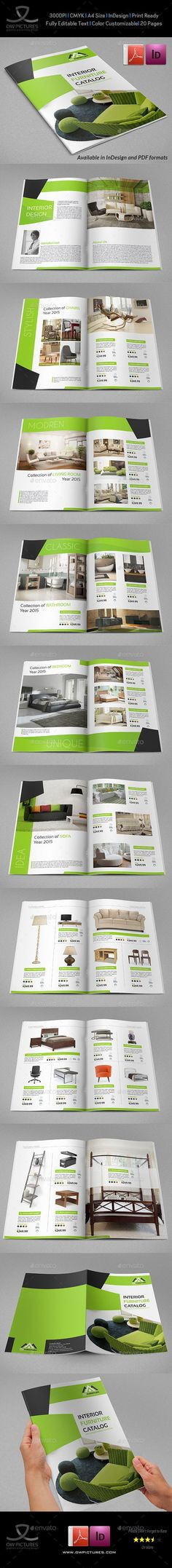 Products Catalogs Brochure - 20 Pages: