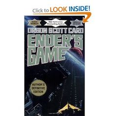 Ender's Game (Ender, Book Orson Scott Card - Dark, dangerous and required reading. I don't know why it took me so long to happen upon it, but it's something else. The best book I read in Best Sci Fi Books, Good Books, My Books, Card Book, Book 1, The Book, Books You Should Read, Books To Read, Ender's Game Series