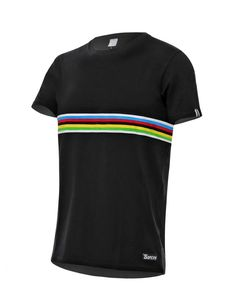 UCI Classic Rainbow Short Sleeve Cycling Jersey  d5399f8a8