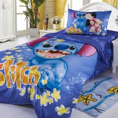 New 2015 Disney Lilo Stitch Bedding Set Twins Single Bed Cotton Gift RARE  In Collectibles, Disneyana, Contemporary
