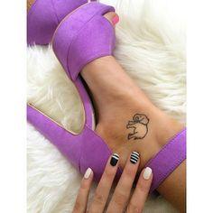 Shaaanxo's Ankle Tattoo