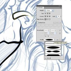 How to Create a Clean Vector Outline with Adobe Illustrator, in Five Minutes –…