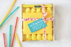 Look at these fun (and yummy) things you can do with Peeps! #studiodiy