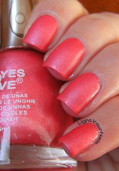Yes Love Leather G10-5  #nails #nailpolish #neon #coral #suede #yeslove