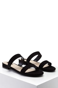 Faux Suede Sandals - Shoes - 2000322268 - Forever 21 EU English