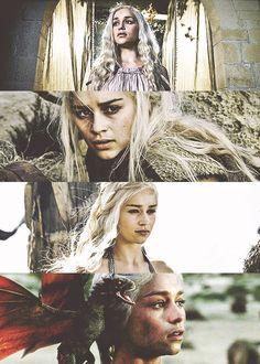 Daenerys Targaryen by nightlyallaround