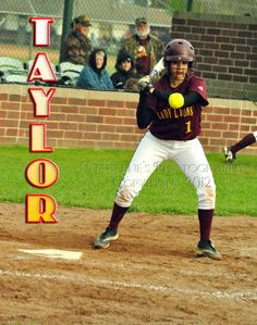 New Boston Lady Lions, #1 Taylor Wright plays right field.