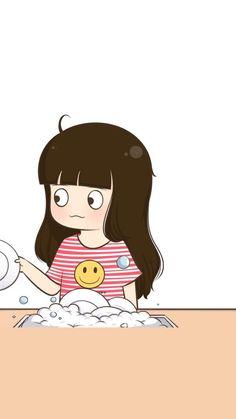 Love Cartoon Couple, Chibi Couple, Cute Couple Art, Anime Love Couple, Cute Anime Couples, Cute Cartoon Images, Cute Cartoon Wallpapers, Couple Wallpaper Relationships, Cute Couple Wallpaper