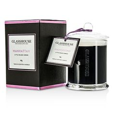 Glasshouse Ароматическая Свеча - Manhattan (Little Black Dress) 60g